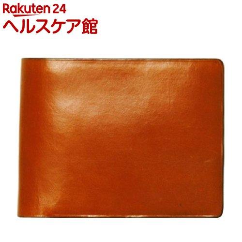 イル・ブセット 2つ折り財布(小銭入れ付) ブラウン(1コ入)【Il Bussetto(イル・ブセット)】