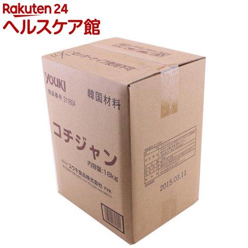 ユウキ食品 業務用コチジャン BIB容器入り(18kg)
