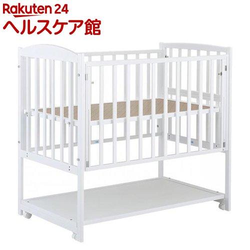ハイタイプベッド ツーオープン ホワイト(1台)【カトージ(KATOJI)】【送料無料】