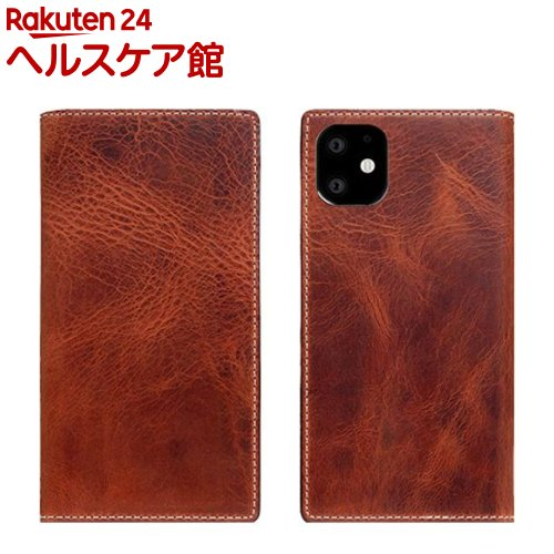 SLG Design iPhone 11 Badalassi Wax case ブラウン SD17904i61R(1個)【SLG Design(エスエルジーデザイン)】