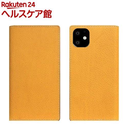 SLG Design iPhone 11 Minerva Box Leather Case タン SD17905i61R(1個)【SLG Design(エスエルジーデザイン)】