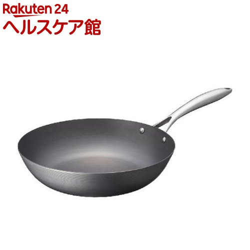 ビタクラフト スーパー鉄 ウォックパン 30cm(1コ)【ビタクラフト】
