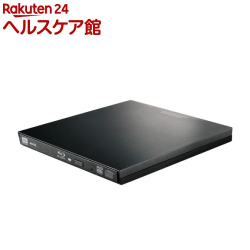 エレコム UHD BD搭載 ポータブルBDドライブ ブラック LBD-PVA6U3VBK(1台)【エレコム(ELECOM)】