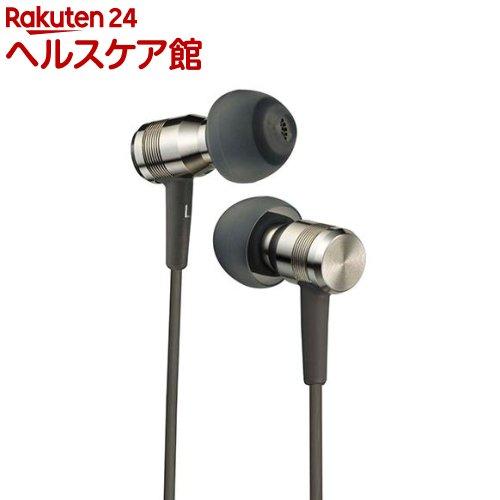 JVC インナーイヤヘッドホン グレー HA-FD7-H(1セット)【JVC】【送料無料】