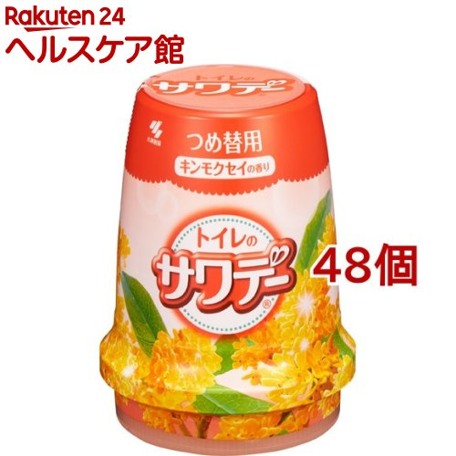 サワデーつめ替 こころ安らぐキンモクセイの香り(140g*48個セット)【サワデー】