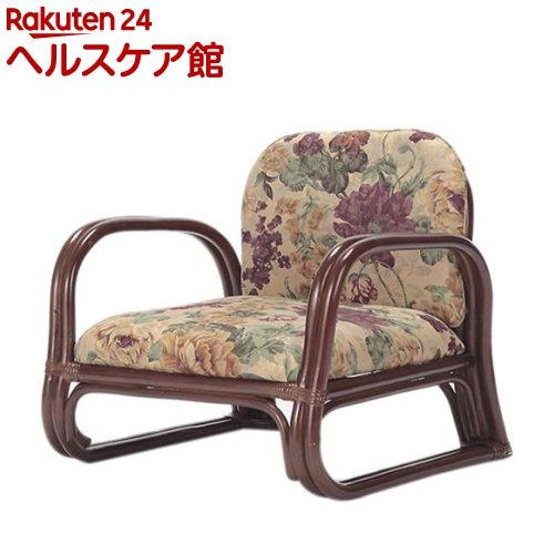 天然籐思いやり座椅子 ロータイプ(1コ入)【送料無料】