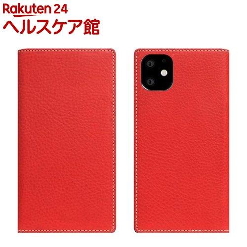 SLG Design iPhone 11 Minerva Box Leather Case レッド SD17907i61R(1個)【SLG Design(エスエルジーデザイン)】