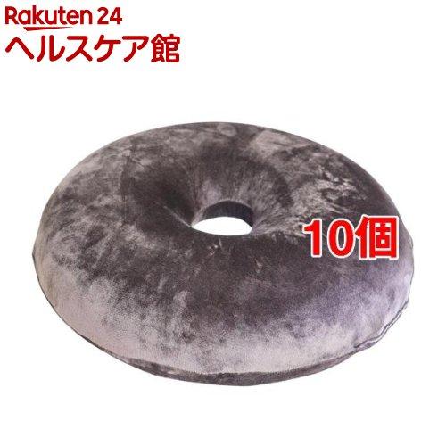 高弾力 円座クッション ブラウン 約40Rcm(10個セット)