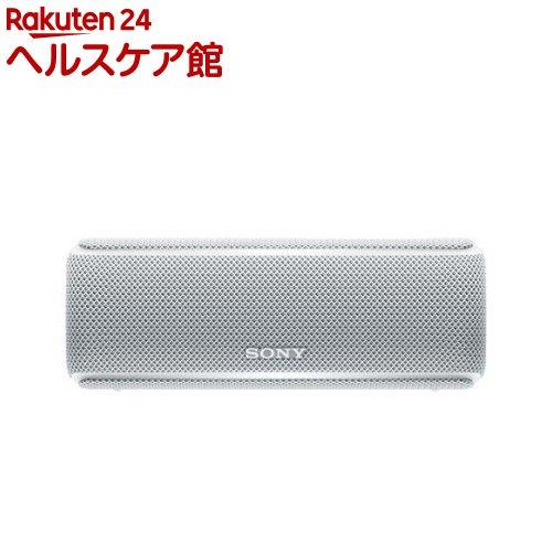 ソニー ワイヤレスポータブルスピーカー SRS-XB21 WC ホワイト(1台)【SONY(ソニー)】【送料無料】