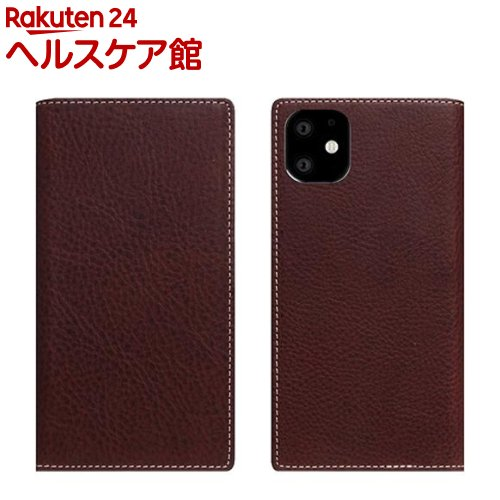 SLG Design iPhone 11 Minerva Box Leather Case ブラウン SD17908i61R(1個)【SLG Design(エスエルジーデザイン)】