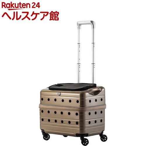 Rui&Aguri PKシリーズ キャリーケース PK-02B-42 シャンパンゴールド(1台入)【送料無料】