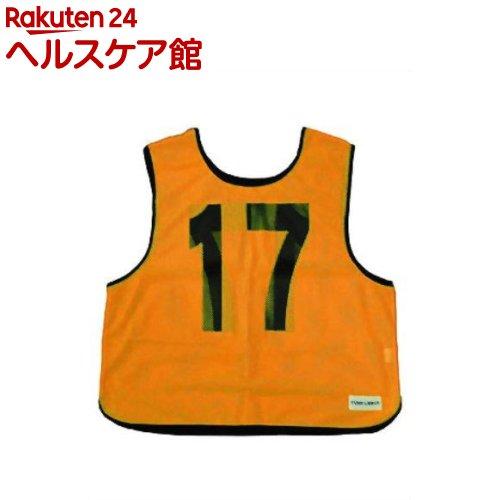 メッシュベスト(11-20) 蛍光オレンジ B-7692V(1枚入)【トーエイライト】