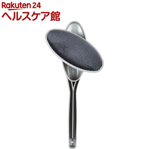エチケットブラシ 回転式 H02 グレー(1コ入)【エチケットブラシ】