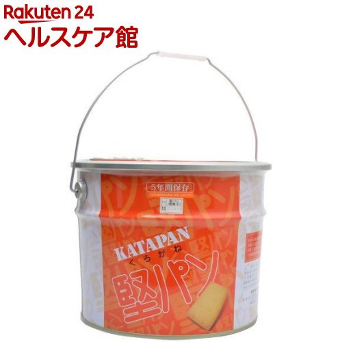 くろがね堅パン スチール缶入り(5枚入*34袋入)【くろがね】【送料無料】