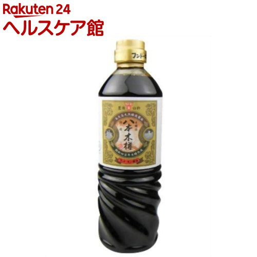 フンドーキン 捧呈 丸大豆天然醸造醤油 八本木樽 720ml 特価品コーナー☆ spts4
