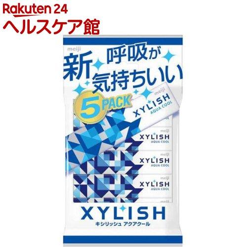 キシリッシュガム アクアクール 5個パック(12粒*5コ入)【キシリッシュ】