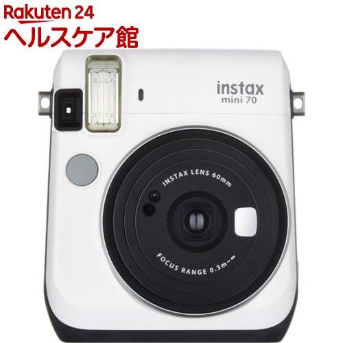 フジフイルム チェキ instax mini 70N ホワイト(1台)【フジフイルム】【送料無料】