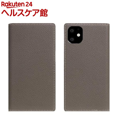 SLG Design iPhone 11 Full Grain Leather Case エトフクリーム SD17912i61R(1個)【SLG Design(エスエルジーデザイン)】
