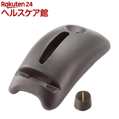 カメヤマ ペットト 陶製タイプ 黒セット(スマートフォン ペット供養)(1セット)【カメヤマ】【送料無料】