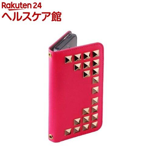 ゲイズ iPhone5/5s/iPhone SE グリッターダイアモンドダイアリー ピンク GZ3812i5S(1コ入)【ゲイズ】