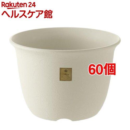 ムール ポット 5号 ホワイト(60個セット)【ムール】