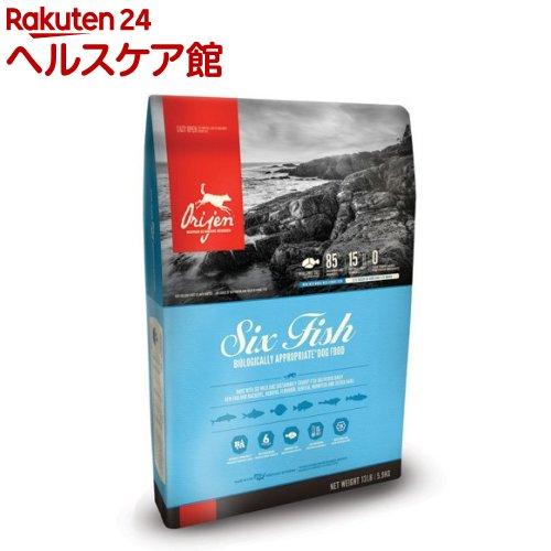 オリジン 6フィッシュドッグ(5.9kg)【オリジン】【送料無料】