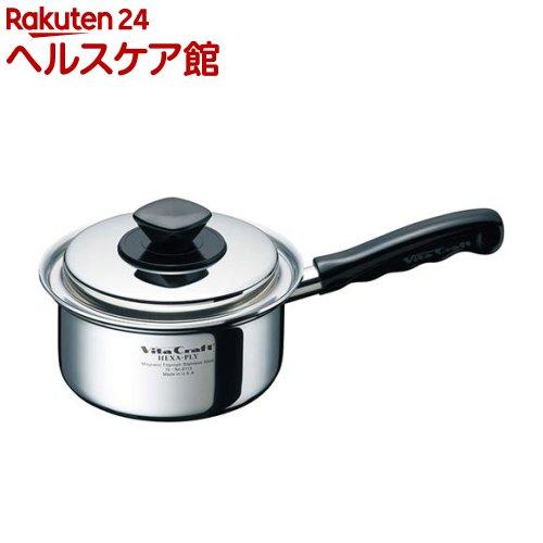 ビタクラフト ヘキサプライ 片手ナベ 1.2L 6113(1コ入)【ビタクラフト】【送料無料】