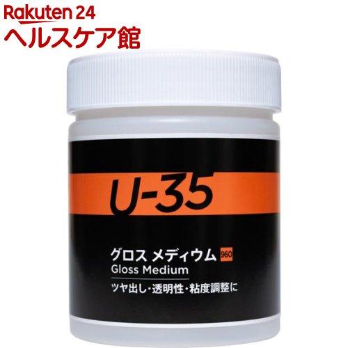 祝日 ターナー U-35アクリリックス 販売 グロスメディウム 500ml UA500960