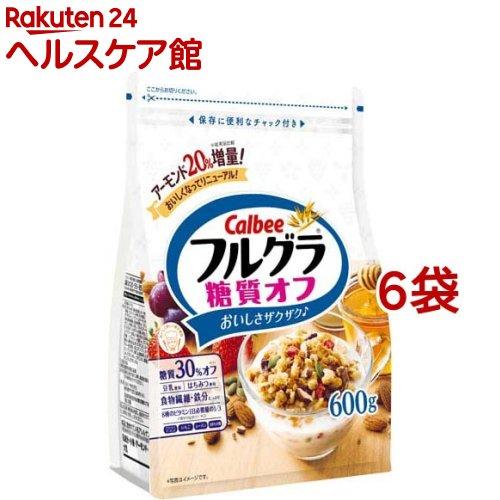 フルグラ / フルグラ 糖質オフ フルグラ 糖質オフ(600g*6コセット)【pickUP】【carbo_2】【フルグラ】