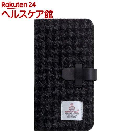SLG iPhone XR ハリスツイードダイアリー ブラック SD13714i61(1個)【SLG Design(エスエルジーデザイン)】