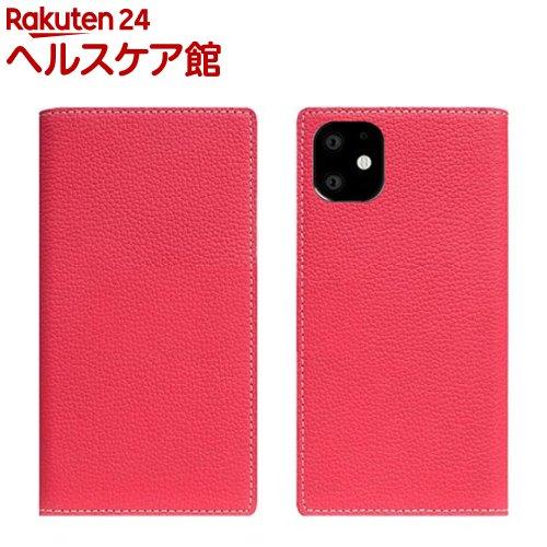 SLG Design iPhone 11 Full Grain Leather Case ピンクローズ SD17914i61R(1個)【SLG Design(エスエルジーデザイン)】