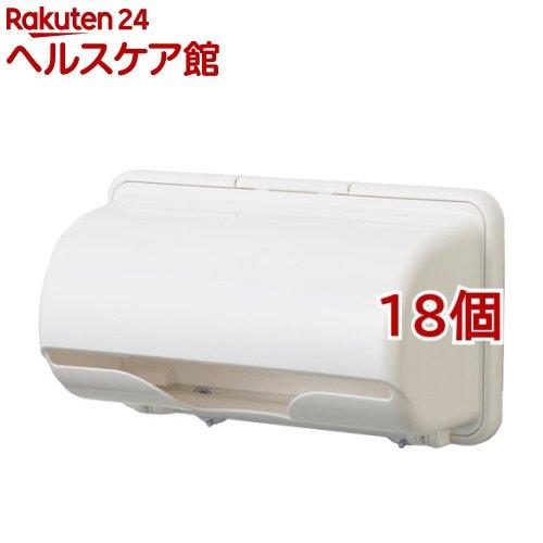 プラススマート キッチンペーパーホルダー ピュアホワイト(18個セット)