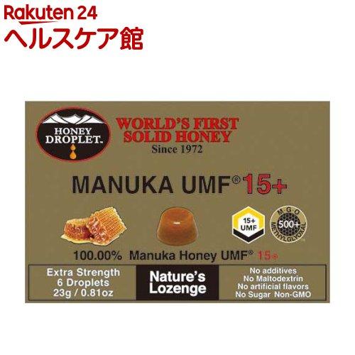 おやつ お菓子 ハニージャパン 23g 輸入 UMFマヌカハニー15プラス 売り出し ハニードロップレット
