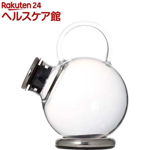 iwaki SNOWTOP ティーシリーズ ティーポット 500ml (プラチナ) 805T-SV(1コ入)【送料無料】