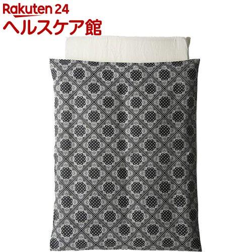 布団5点セット ペイズリーブラック(1セット)【カトージ(KATOJI)】【送料無料】