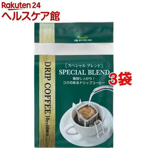 進和珈琲 ドリップコーヒー スペシャルブレンド(10g*10杯分*3コセット)