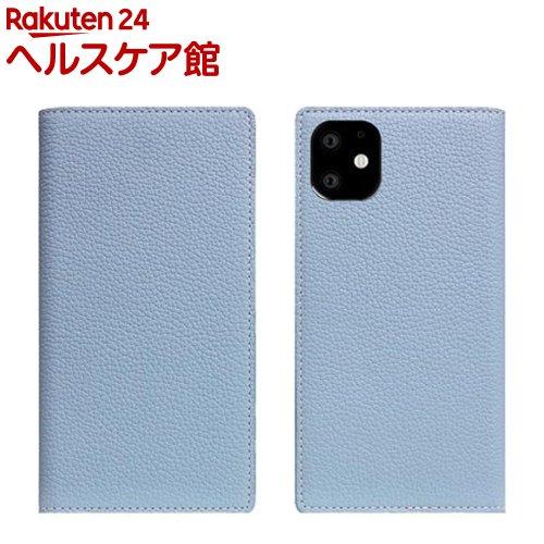 SLG Design iPhone 11 Full Grain Leather Case パウダーブルー SD17916i61R(1個)【SLG Design(エスエルジーデザイン)】