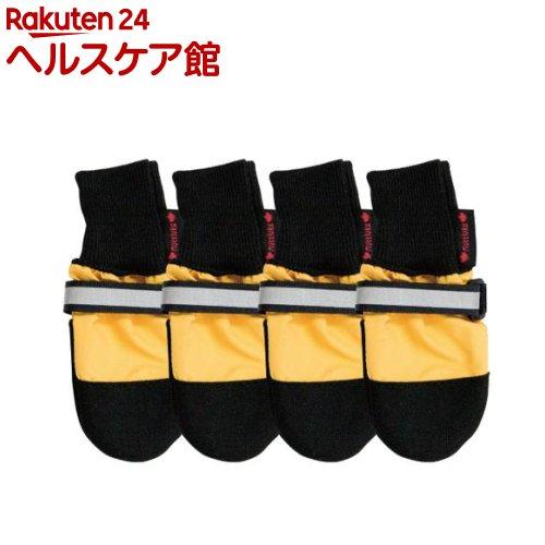 室内・室外用ペットシューズ 全天候型ブーツ L 大型犬用(4枚組)【送料無料】