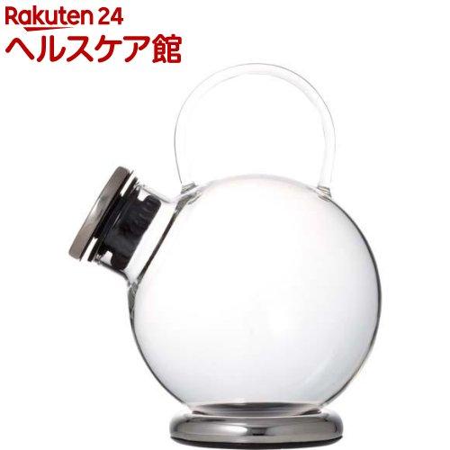 iwaki SNOWTOP ティーシリーズ ティーポット 1000ml (プラチナ) 806T-SV(1コ入)