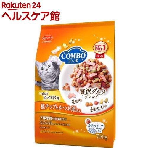 キャットフード コンボ COMBO 猫下部尿路の健康維持 かつお味 5袋入 ランキング総合1位 140g 鮭チップ more20 お気にいる かつお節添え
