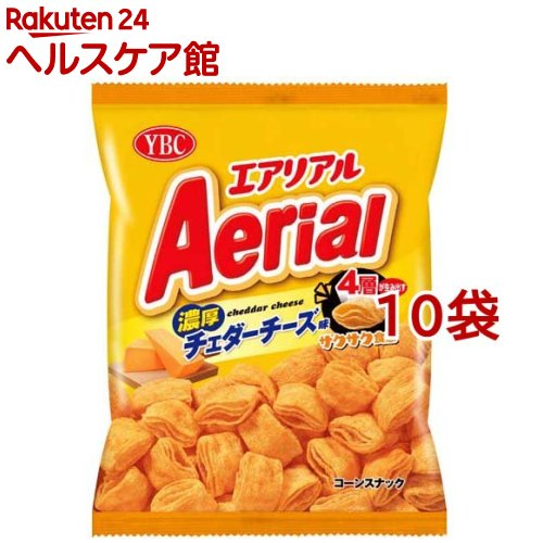 エアリアル 濃厚チェダーチーズ味 訳あり 70g 10袋セット 予約販売品