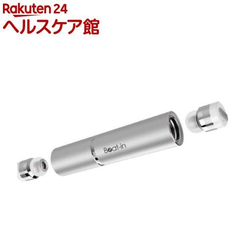 ビートイン 超小型・完全ワイヤレスイヤホン スティック シルバー BI9320(1コ入)【送料無料】