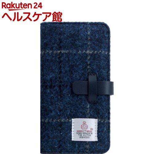 SLG iPhone XR ハリスツイードダイアリー ネイビー SD13720i61(1個)【SLG Design(エスエルジーデザイン)】