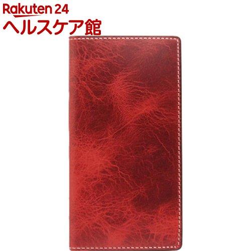 エスエルジーデザイン iPhone X バダラッシーワックスケース レッド SD10521i8(1コ入)【SLG Design(エスエルジーデザイン)】