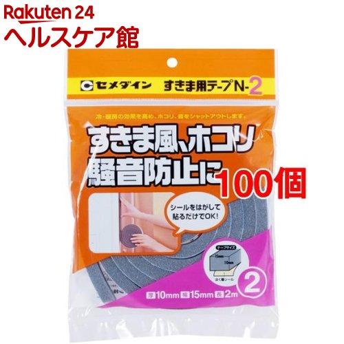 セメダイン すきま用テープN-2 TP-163 10*15*2(100個セット)【セメダイン】