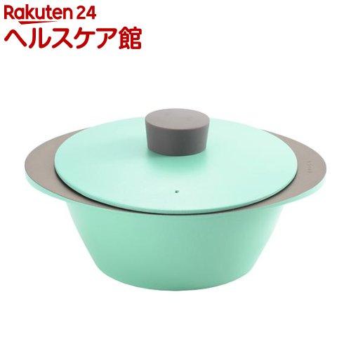 イイトコ ナベ アルミ調理鍋 アクアブルー AS0022(1コ入)【イイトコ(EAトCO)】【送料無料】