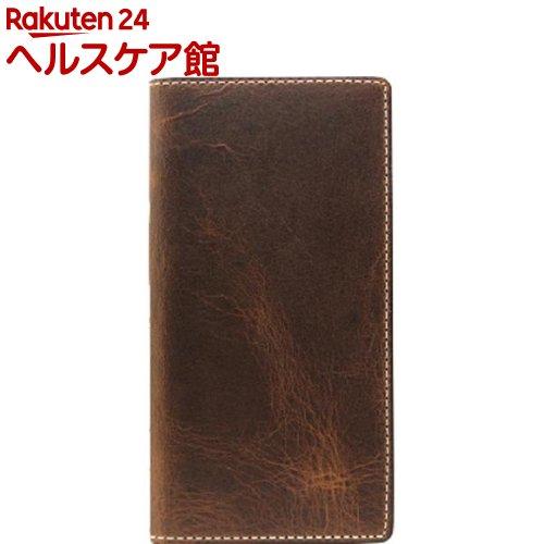 エスエルジーデザイン iPhone X バダラッシーワックスケース ブラウン SD10522i8(1コ入)【SLG Design(エスエルジーデザイン)】