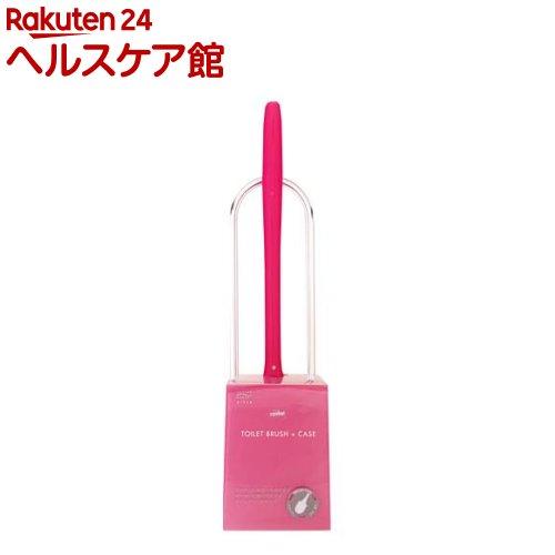今だけスーパーセール限定 カスケット トイレブラシケース付 ピンク TN201 定番キャンバス 1コ入