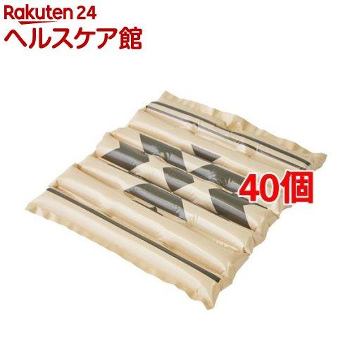 エアクッション ザブポン スタイル ネイティブ柄 ベージュ(1枚入*40個セット)【ザブポン】