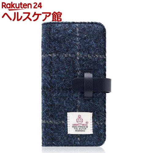 SLGデザイン iPhone7 ハリスツィードダイアリー ネイビー SD8123i7(1コ入)【SLG Design(エスエルジーデザイン)】